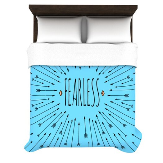 KESS InHouse Fearless Duvet Cover