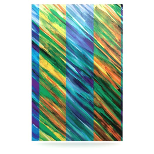 KESS InHouse Set Stripes II by Theresa Giolzetti Graphic Art Plaque