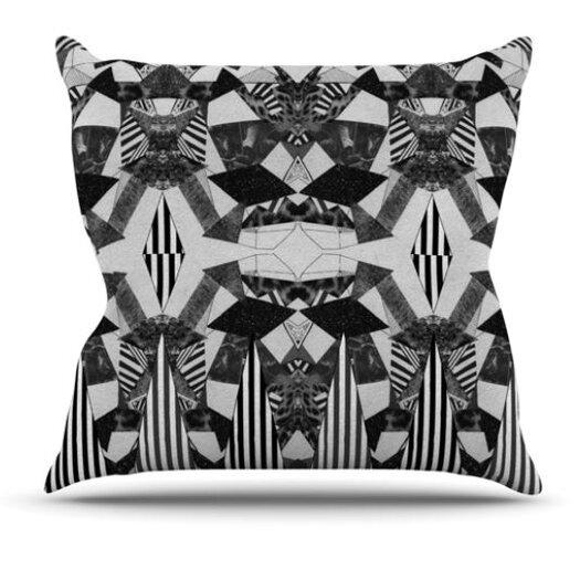 KESS InHouse Tessellation Throw Pillow