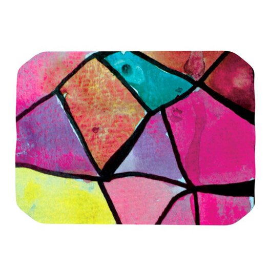 KESS InHouse Stain Glass 3 Placemat