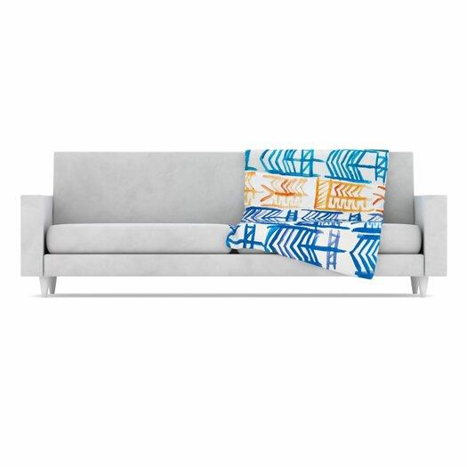 KESS InHouse Quiver II Fleece Throw Blanket