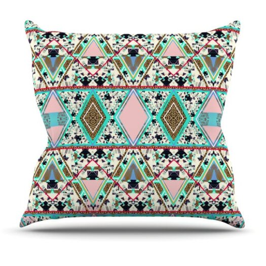 KESS InHouse Deco Hippie Throw Pillow
