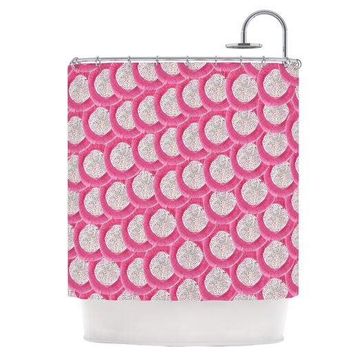 KESS InHouse Oho Boho Polyester Shower Curtain