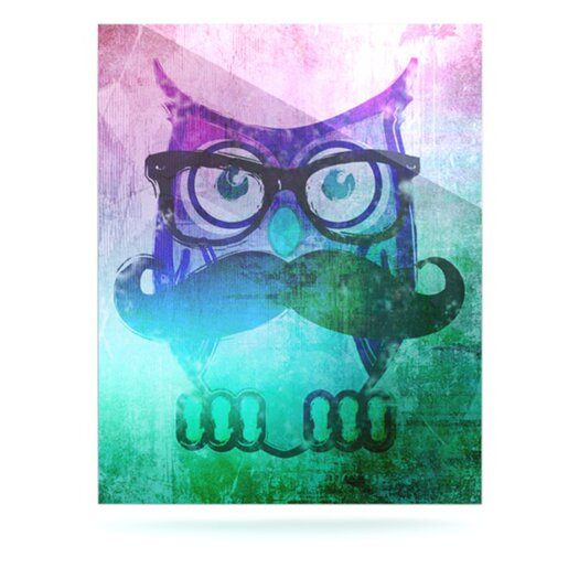 KESS InHouse Showly by iRuz33 Graphic Art Plaque