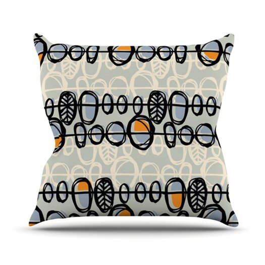 KESS InHouse Benin Throw Pillow