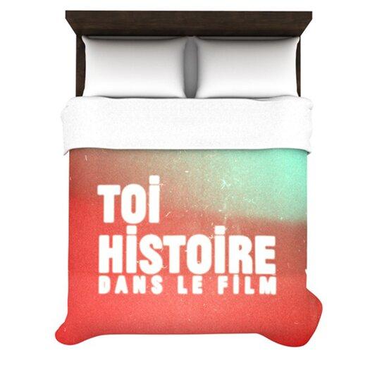 KESS InHouse Toi Histoire Duvet