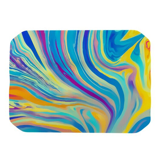 KESS InHouse Rainbow Swirl Placemat