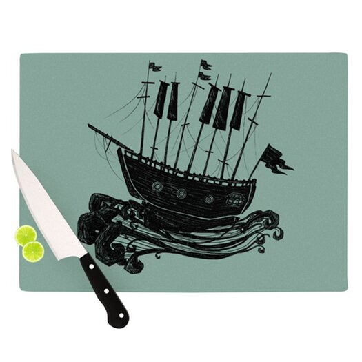 KESS InHouse Ship Cutting Board