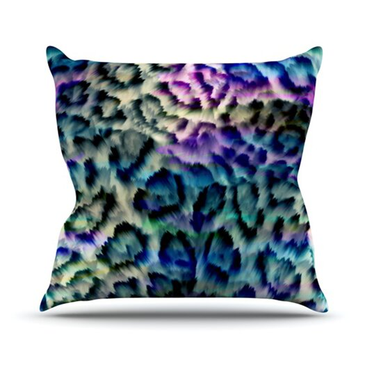 KESS InHouse Wild Throw Pillow