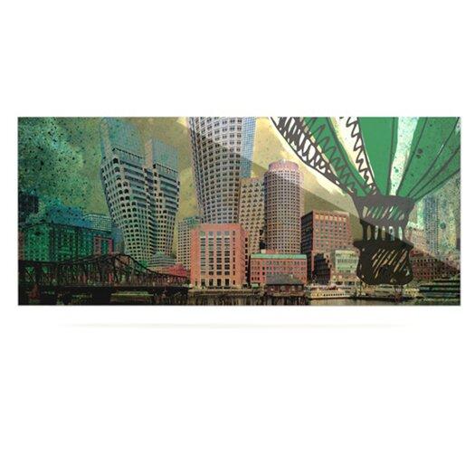 KESS InHouse Boston by iRuz33 Graphic Art Plaque