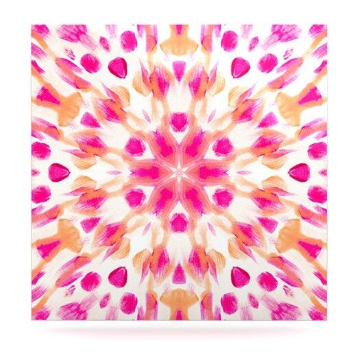 KESS InHouse Batik Mandala by Iris Lehnhardt Graphic Art Plaque