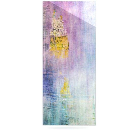 KESS InHouse Color Grunge by Iris Lehnhardt Painting Print Plaque