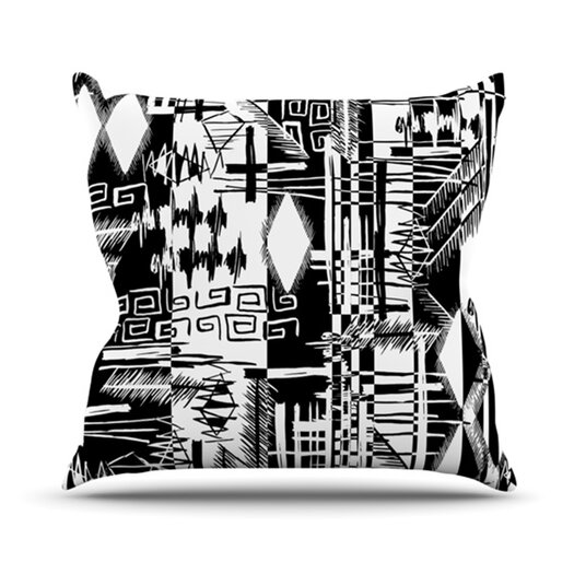 KESS InHouse Tropical Buzz Throw Pillow