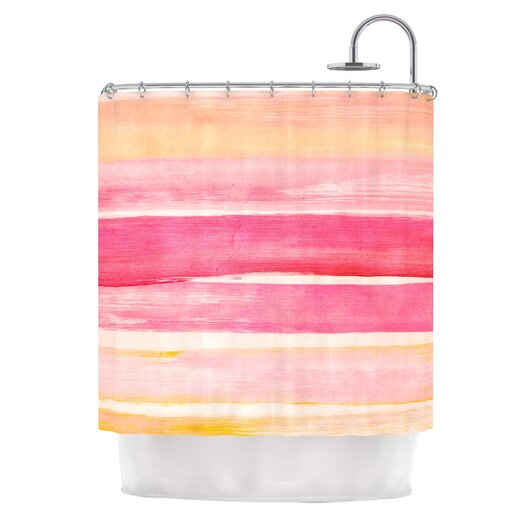 KESS InHouse Coulour Play Polyester Shower Curtain