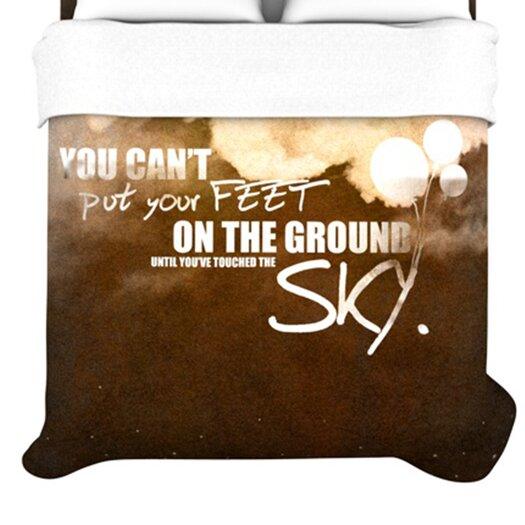 KESS InHouse Touch The Sky Duvet Cover