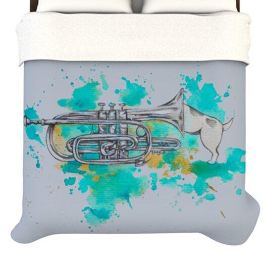 KESS InHouse Hunting for Jazz Duvet Cover