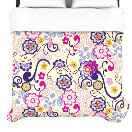 KESS InHouse Arabesque Duvet Cover