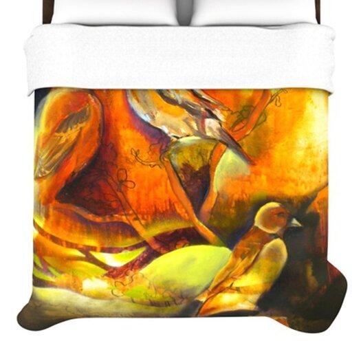 KESS InHouse Reflecting Light Duvet Cover