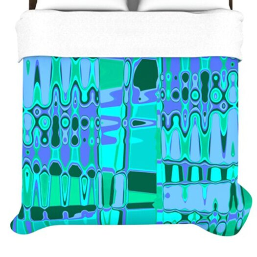 KESS InHouse Changing Gears Duvet Cover