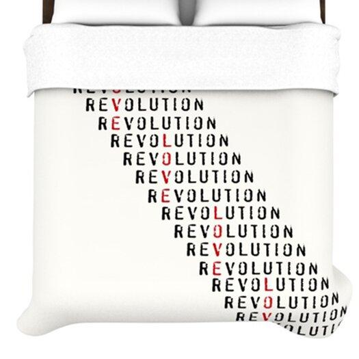 KESS InHouse Revolution Duvet Cover