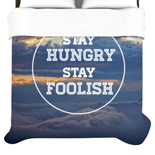 KESS InHouse Stay Hungry Duvet Cover