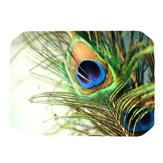 KESS InHouse Peacock Feather Placemat