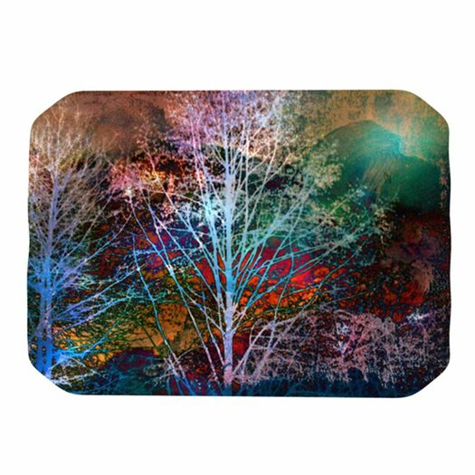 KESS InHouse Trees in the Night Placemat