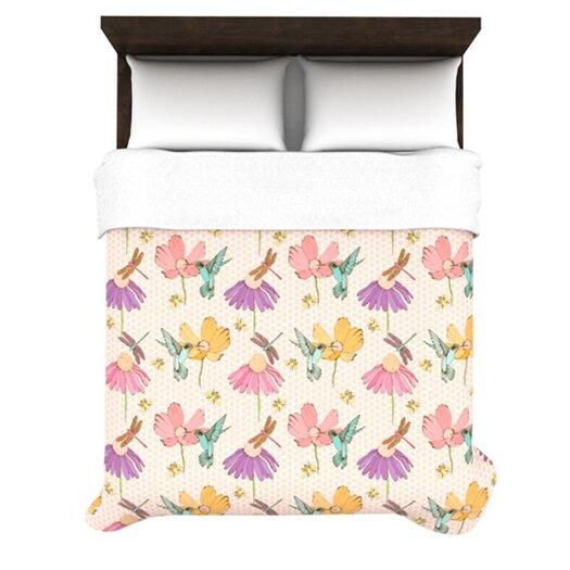 KESS InHouse Magic Garden Duvet Cover