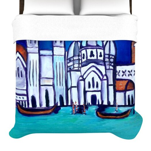 KESS InHouse Venice Duvet Cover