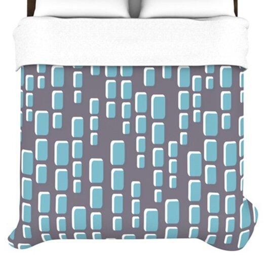 KESS InHouse Cubic Geek Chic Duvet Cover