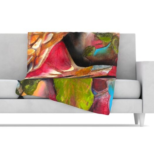 KESS InHouse Glimpse Fleece Throw Blanket