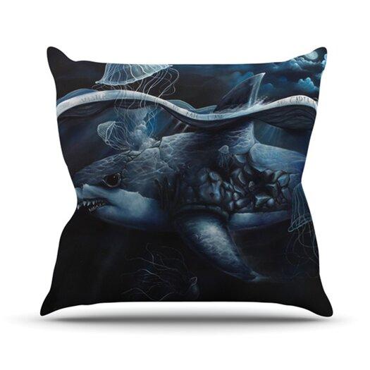 KESS InHouse Invictus Throw Pillow