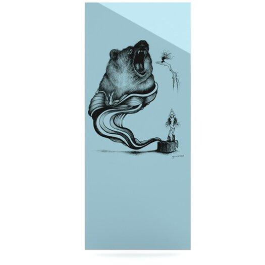 KESS InHouse Hot Tub Hunter II by Graham Curran Graphic Art Plaque