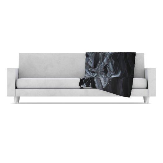 KESS InHouse Troubled Joe Microfiber Fleece Throw Blanket