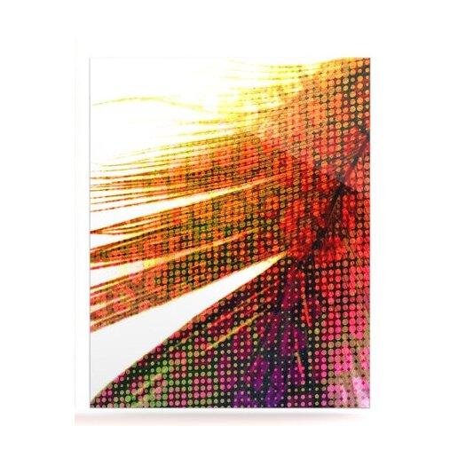 KESS InHouse Feather Pop by Alison Coxon Graphic Art Plaque