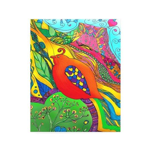 KESS InHouse Psycho-Delic Dan by Catherine Holcombe Graphic Art Plaque