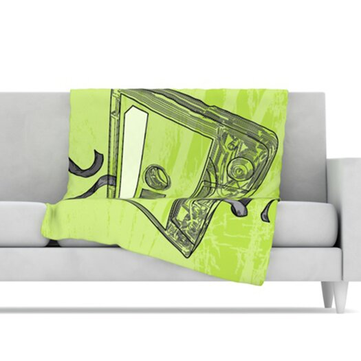 KESS InHouse Mixtape Fleece Throw Blanket
