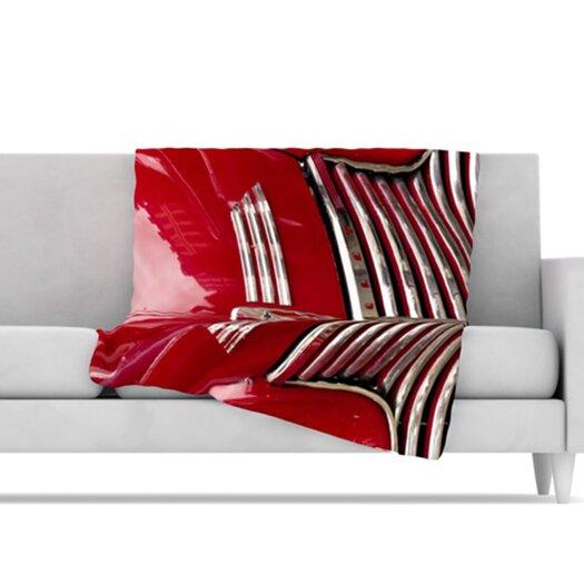 KESS InHouse Chevy Microfiber Fleece Throw Blanket