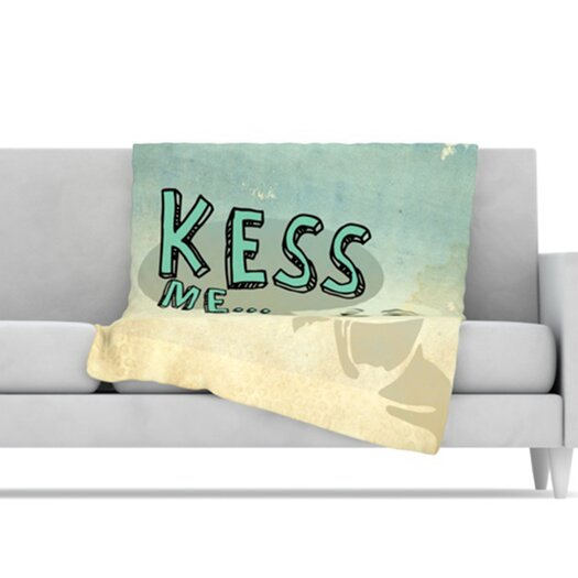 KESS InHouse Kess Me Microfiber Fleece Throw Blanket