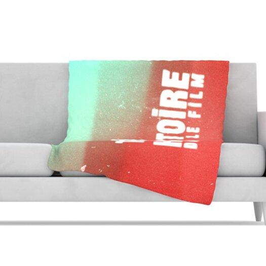 KESS InHouse Toi Histoire Microfiber Fleece Throw Blanket