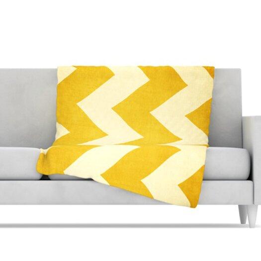 KESS InHouse 1932 Microfiber Fleece Throw Blanket
