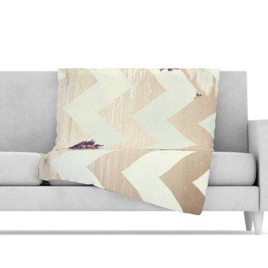 KESS InHouse Oasis Microfiber Fleece Throw Blanket