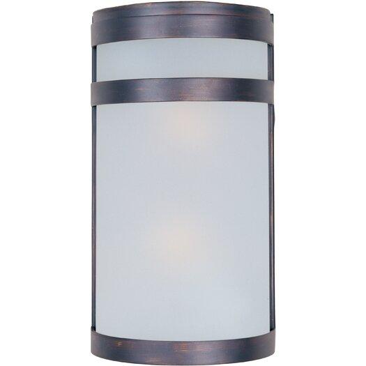 Maxim Lighting Arc 2-Light Outdoor Wall Lantern