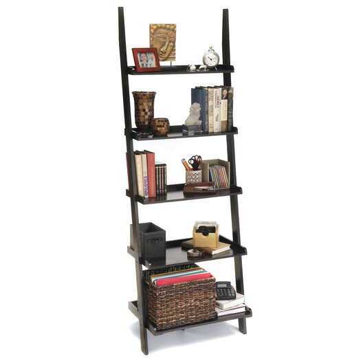 "Convenience Concepts American Heritage Ladder 72"" Bookcase"