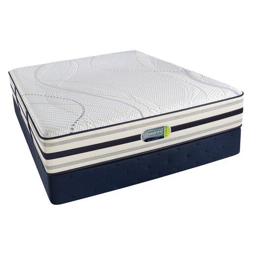 """Simmons Beautyrest Beautyrest Recharge Hybrid 11.5"""" Memory Foam Luxury Firm Mattress"""