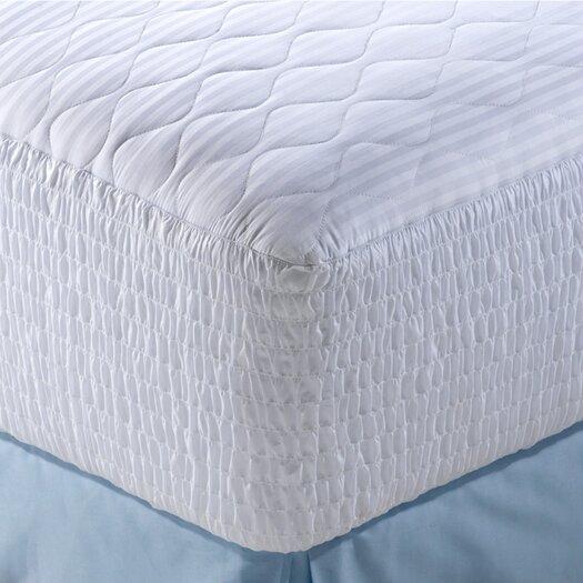 Simmons Beautyrest 100% Pima Cotton Stripe Five Zone Mattress Pad