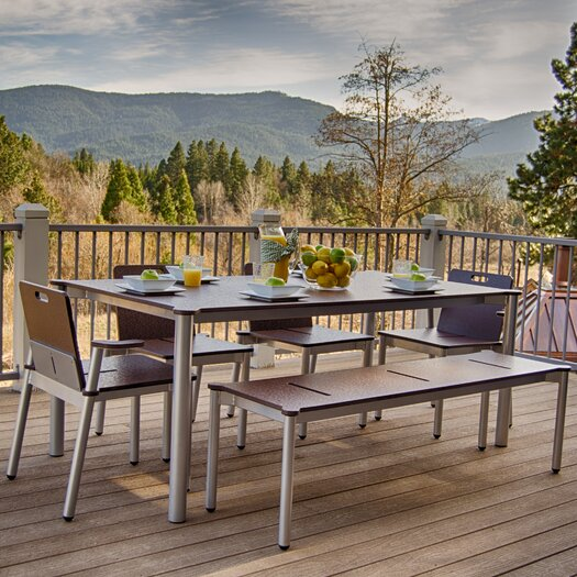Elan Furniture Bridge II 6 Piece Dining Set