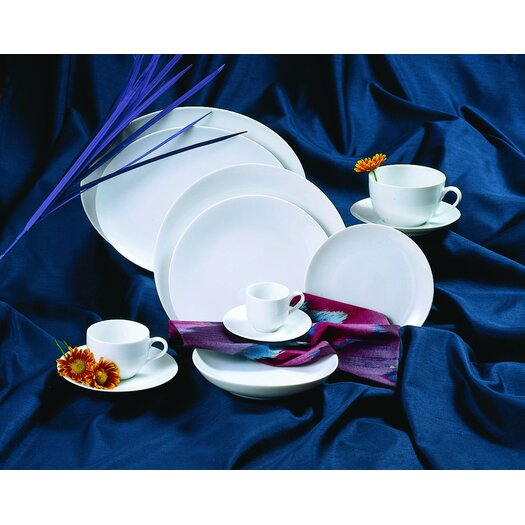 "Ten Strawberry Street Classic Coupe 7.5"" Salad / Dessert Plate"