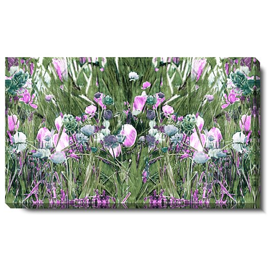 "Studio Works Modern ""Spring Garden Bloom"" Gallery Wrapped by Zhee Singer Painting Print on Canvas"