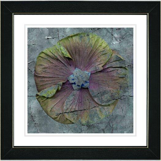 """Studio Works Modern """"Mudflower"""" by Zhee Singer Framed Graphic Art"""